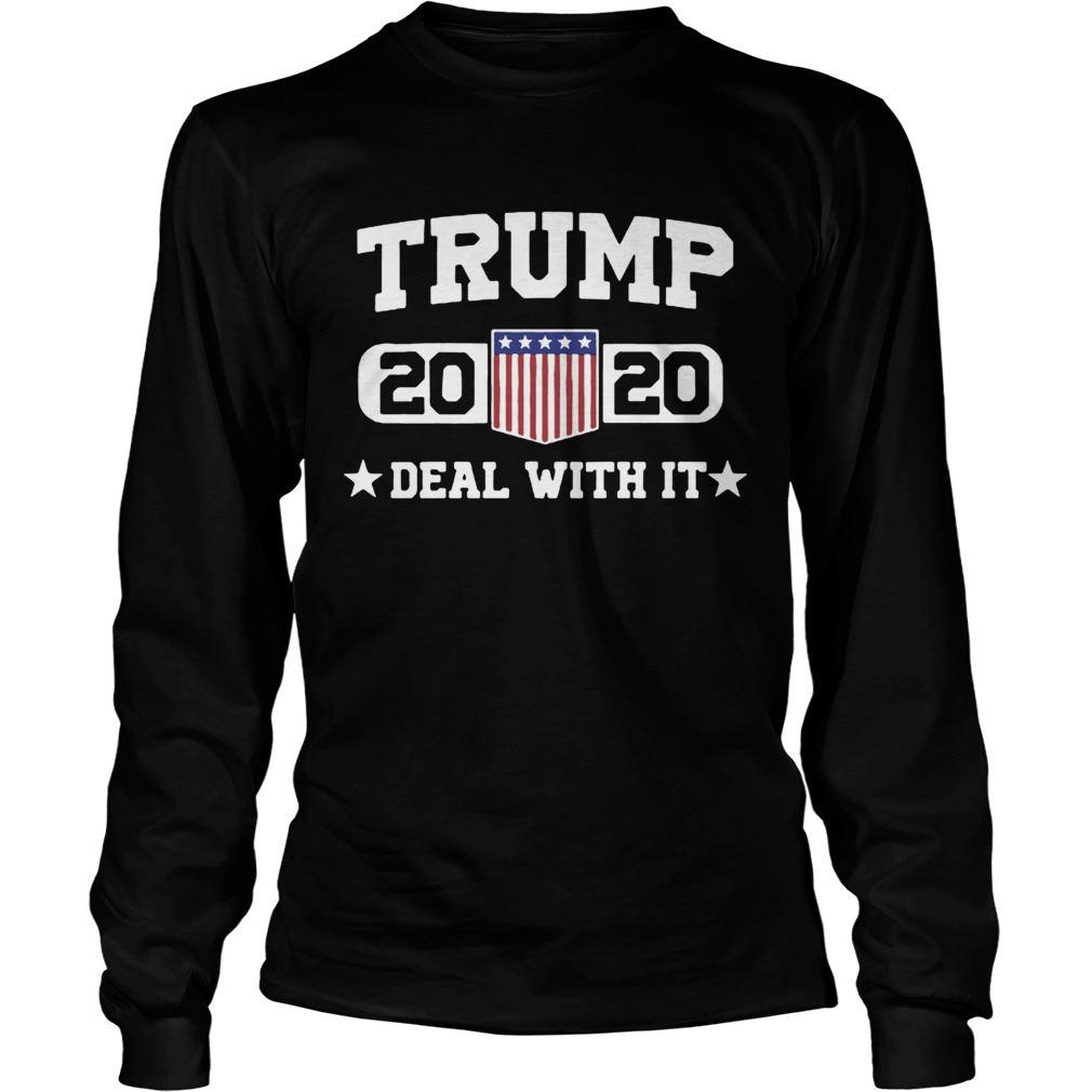 Jeep Trump 2020 deal with it  LongSleeve