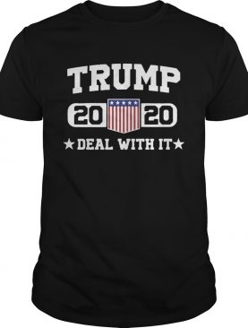 Jeep Trump 2020 deal with it shirt