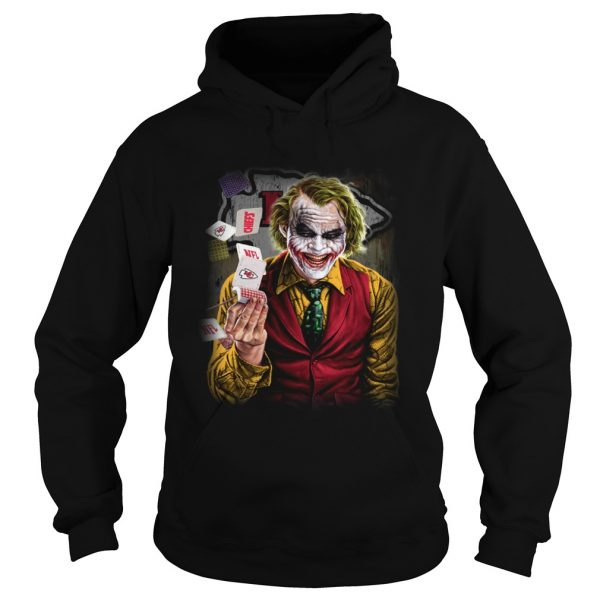Kansas City Chiefs Joker Poker Shirt Hoodie