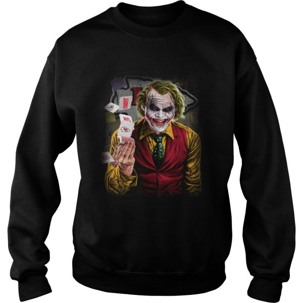Kansas City Chiefs Joker Poker Shirt Sweatshirt