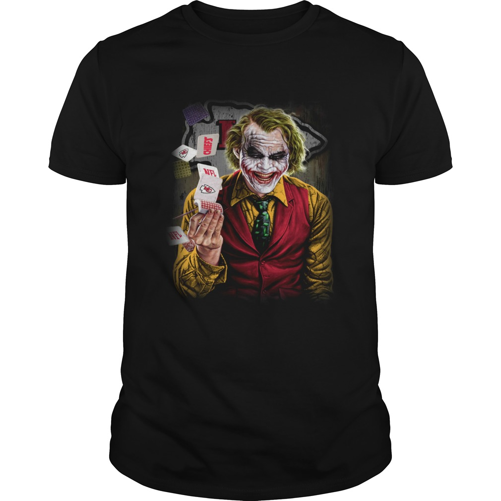Kansas City Chiefs Joker Poker Shirt Unisex