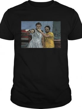Mac and Charlie its always sunny in Philadelphia canvas shirt