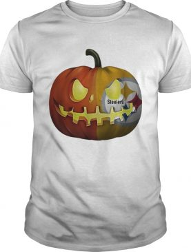 Pittsburgh Steelers pumpkin Halloween shirt