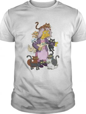 Simpsons Crazy Cat Lady shirt