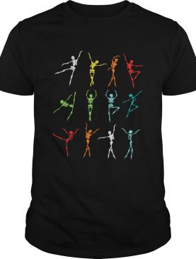 Skeleton dancing LGBT shirt