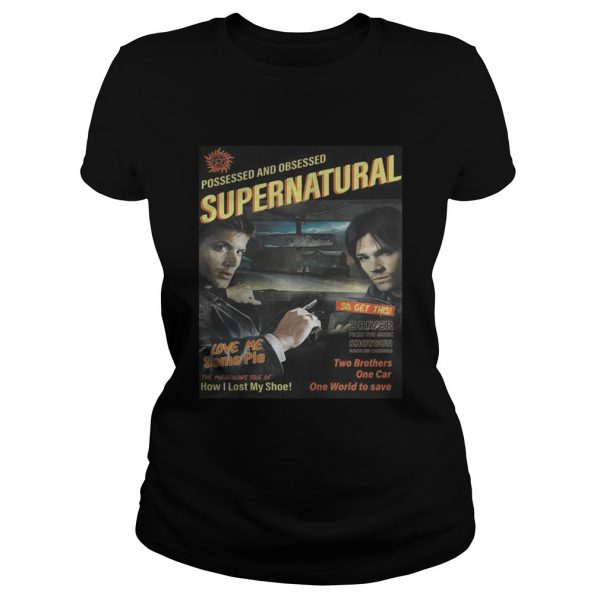 Supernatural End of the Road Shirt Classic Ladies