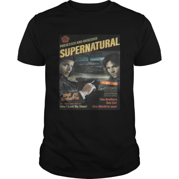 Supernatural End of the Road Shirt Unisex
