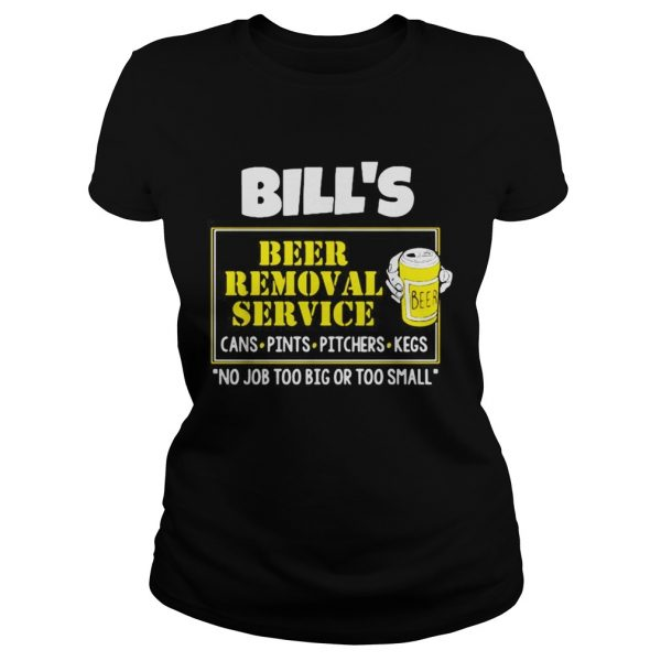 Bills Beer Removal Service cans pints pitchers kegs no job too big  Classic Ladies