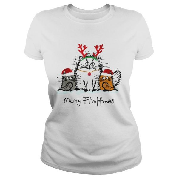 Cats merry fluffmas Christmas  Classic Ladies