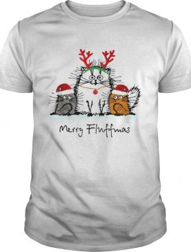 Cats merry fluffmas Christmas shirt