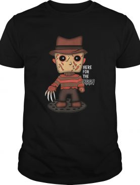 Freddy Krueger Here For The Boos Halloween shirt