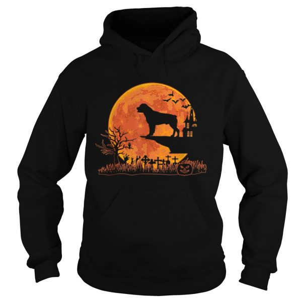 Halloween Rottweiler Dog Moon Costume Gift  Hoodie