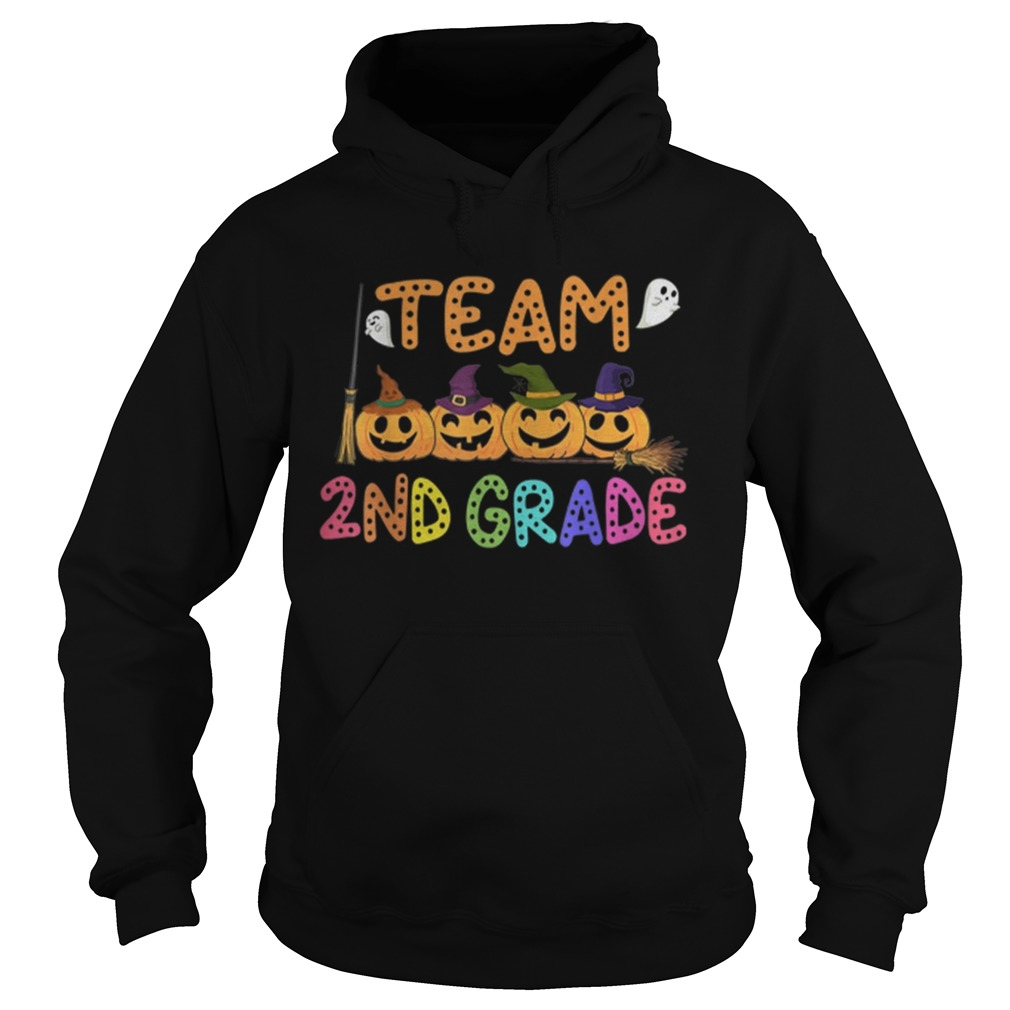 Halloween Team 2nd Second Grade Costumes For Student  Hoodie