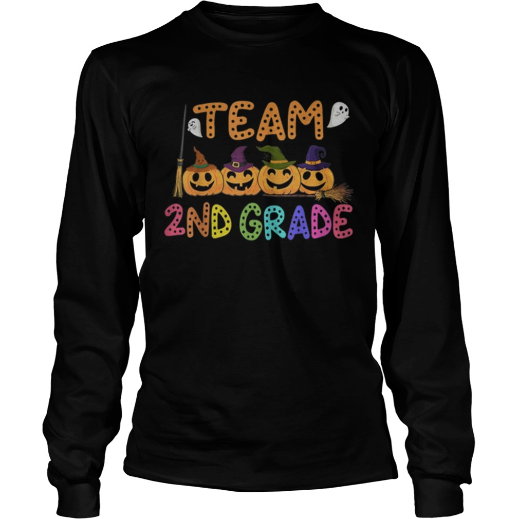 Halloween Team 2nd Second Grade Costumes For Student  LongSleeve