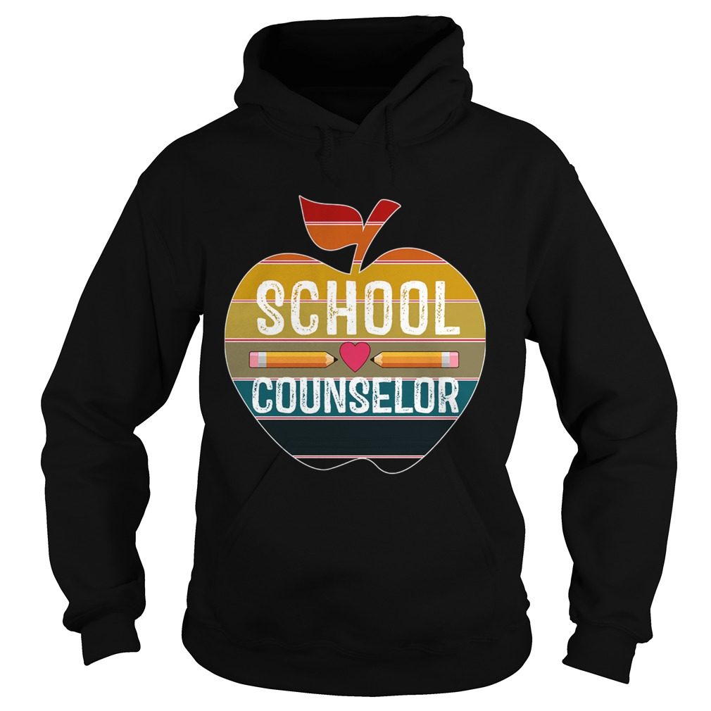 Happy First Day School Counselor Vintage TShirt Hoodie
