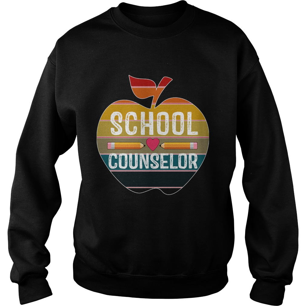 Happy First Day School Counselor Vintage TShirt Sweatshirt