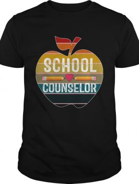 Happy First Day School Counselor Vintage TShirt