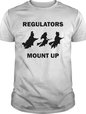 Hocus Pocus Witch Regulators mount up Halloween shirt