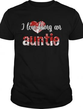 Merry Christmas I Love Being An Auntie Gift For Xmas TShirt