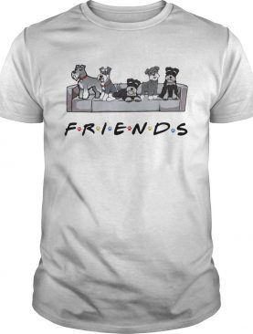 Miniature Schnauzer friends tv show shirt