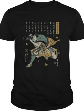 Photographer Samurai shirt