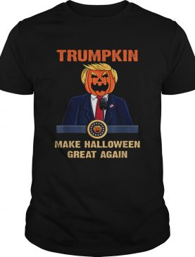 Trumpkin Make Halloween Great Again Funny Trump shirt