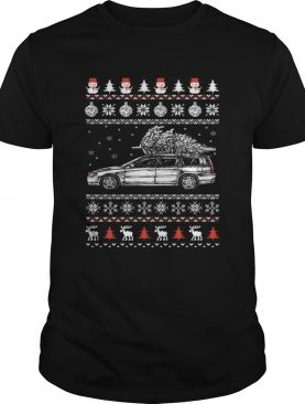 Volvo V70 Brings ugly Christmas sweater