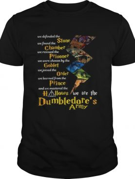 We defended the Stone we found the Chamber Dumbledores Army shirt