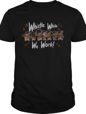 Whistle While We Work MLBPA Officially Licensed TShirt