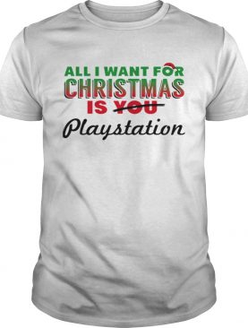 All I Want For Christmas Is Playstation Holiday Game shirt
