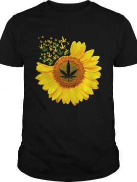Canabis Weed Sunflower shirt