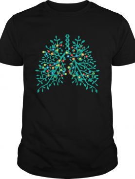 Flowery Lungs Christmas Lights shirt