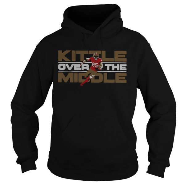 George Kittle San Francisco 49ers Over the Middle  Hoodie