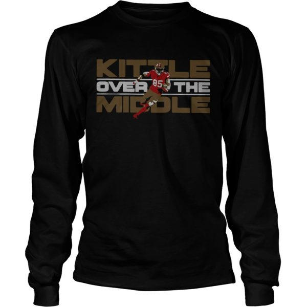 George Kittle San Francisco 49ers Over the Middle  LongSleeve