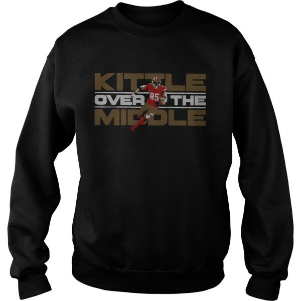 George Kittle San Francisco 49ers Over the Middle  Sweatshirt
