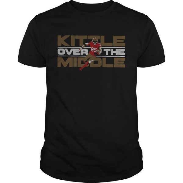 George Kittle San Francisco 49ers Over the Middle  Unisex