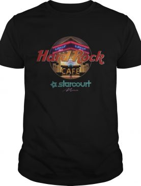 Hard Rock Cafe Starcourt Mall shirt