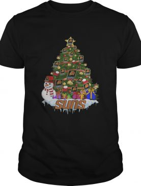 NBA Phoenix Suns Basketball Christmas Tree shirt