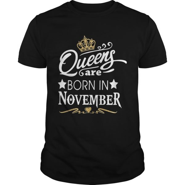 Queen Are Born In November Crown  Unisex