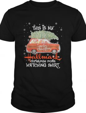 This is my Hallmark Christmas movie watching red car shirt