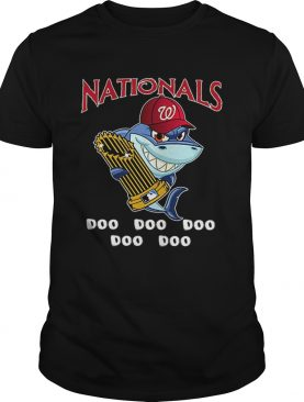 Washington Nationals Baby Shark doo doo doo shirt