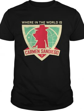 Where In The World Is Carmen Sandiego shirt