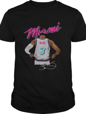 Dwyane Wade Miami Heat Basketball signature shirt