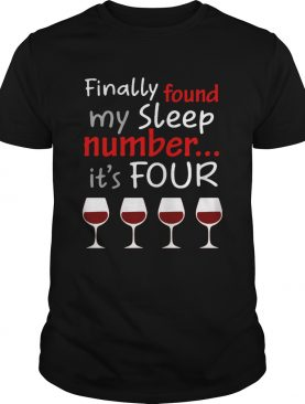 Finally found my sleep number its four christmas shirt