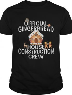 Gingerbread House Construction Crew Decorating shirt