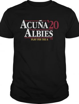 Acua Albies 20 Play For The A shirt