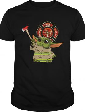 Baby Yoda Courage Fire Honor 2020 shirt