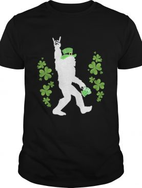 Bigfoot Beer Rock And Roll StPatricks Day shirt