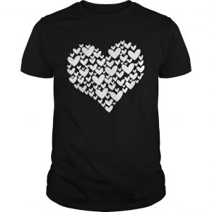 Filled With Hearts Valentines Day Sketch Heart  Unisex