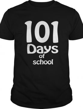 happy 101th days of school Teacher or Student shirt